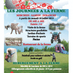 JOURNEES A LA FERME